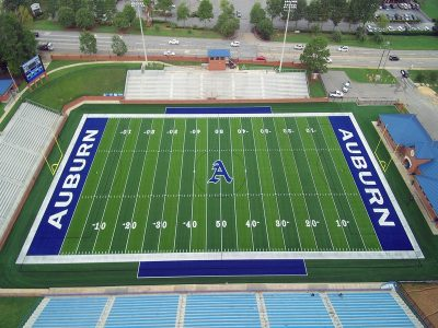 New Sports Turf Surface complete for Auburn