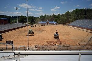Duck Samford Artificial Turf Field in Auburn Sports Turf