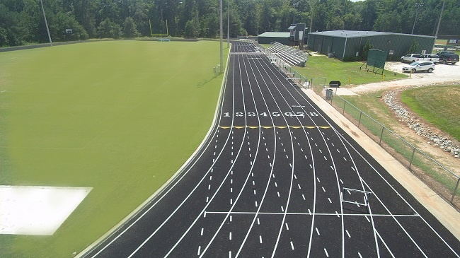 High School Track and Field Builders Sports Turf
